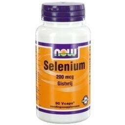 NOW Selenium 200mcg gistvrij