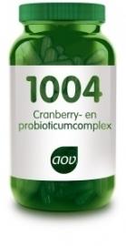 AOV 1004 Cranberry & Probioticum complex 60 capsules