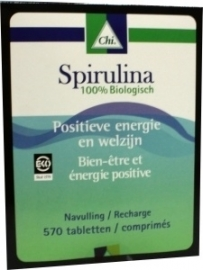 Chi Spirulina CHI navul 570 tabletten