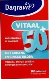 Dagravit Vitaal 50+, 100 tabletten
