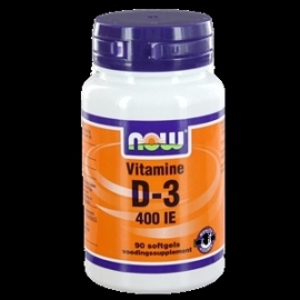 NOW Vitamine D 3 400IE