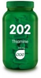AOV 202 Thiamine 100mg 60 tabletten
