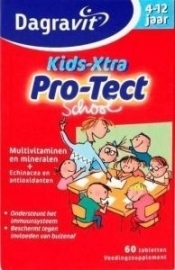 Dagravit Kids Xtra protect school 60 tabletten