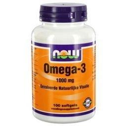NOW Omega 3 1000 mg 100 softgels