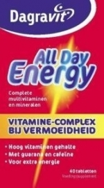 Dagravit All Day Energy rood 40 tabletten