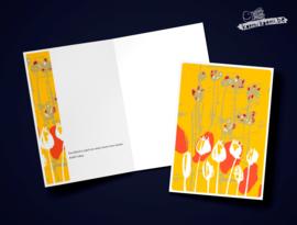 Steun Bloemenperk geel
