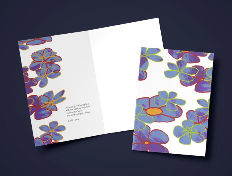 Steun: bloemen 6T