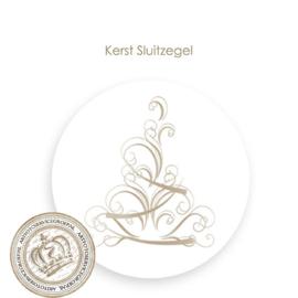 Kerst sluitzegel SK011