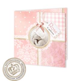 Geboortekaartje LG953 FC2 Pink