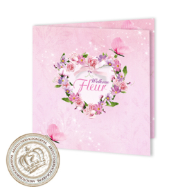 Geboortekaartje LG160 FC2 Pink