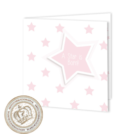 Geboortekaartje LG708 FC2 Pink