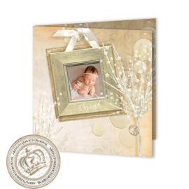 Geboortekaartje GB042 FC2 Pink
