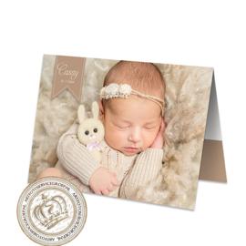 Geboortekaartje LG943 FC2 Girl