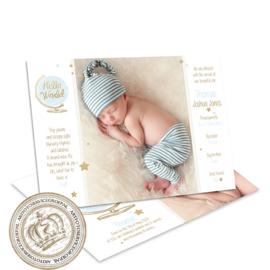 Geboortekaartje LG178 Boy