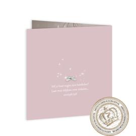 Geboortekaartje LG397 FC2 Pink
