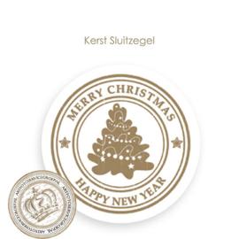 Kerst sluitzegel SK002