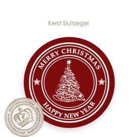 Kerst sluitzegel SK001
