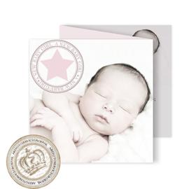Geboortekaartje LG233 FC3 Girl