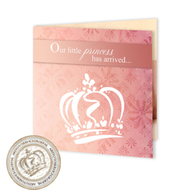 Geboortekaartje LG302 FC2 Pink