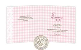 Geboortekaartje LG007 FC2 Pink