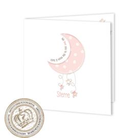 Geboortekaartje LG151 FC2 Pink