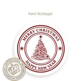 Kerst sluitzegel SK020