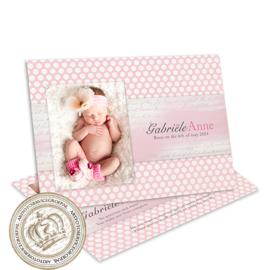 Geboortekaartje LG189 Pink