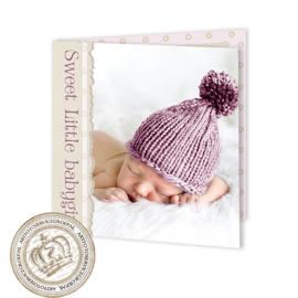 Geboortekaartje LG710 FC2 Pink