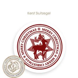 Kerst sluitzegel SK017