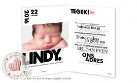 Geboortekaartje LG034 FC2 (Magazine cover)