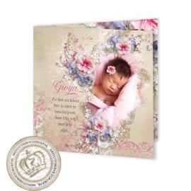 Geboortekaartje LG591 FC2 Girl