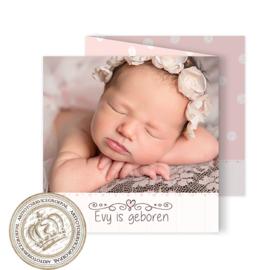 Geboortekaartje LG945 FC3 Girl