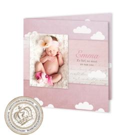 Geboortekaartje LG189 FC2 Pink