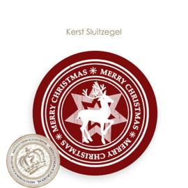 Kerst sluitzegel SK019