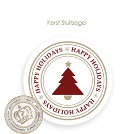 Kerst sluitzegel SK008