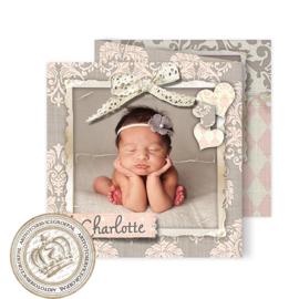 Geboortekaartje LG026 FC3 Girl