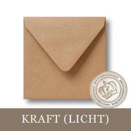 Kraft envelop - Licht