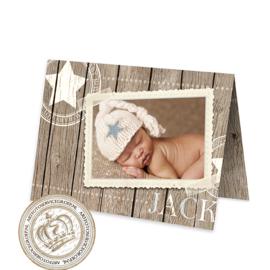 Geboortekaartje LG405 FC2 Boy