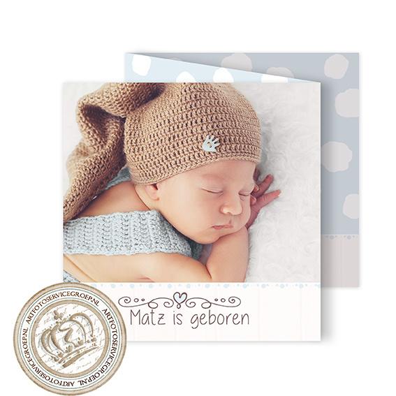 Geboortekaartje LG945 FC3 Boy