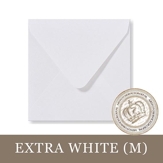 Parelmoer Envelop - Extra White