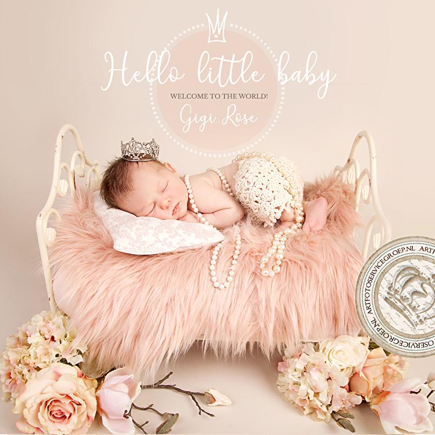 Newborn shoot Art Foto Service Groep