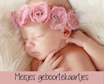 Meisjes Geboortekaartjes