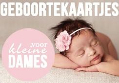 Foto geboortekaartjes voor meisjes