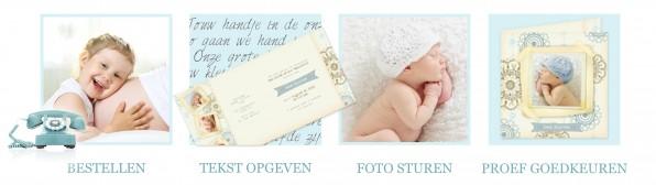 Fotogeboortekaartjes bestellen bij Art Foto Service Groep
