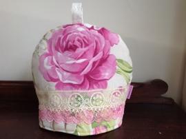 Rozentheemuts in roze