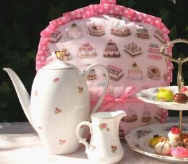 Theemuts met cupcakes