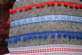 Theemuts Holland verhuisdeken in rood-wit-blauw