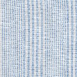 MONDAYSMILK Linen stripy light blue EXTRA WIDE