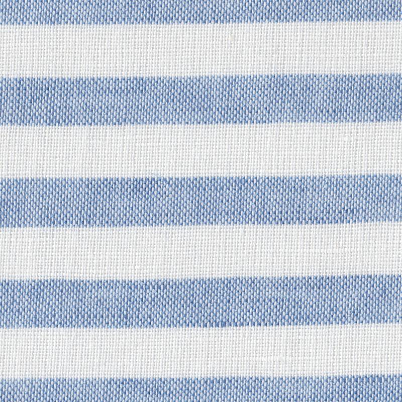 MONDAYSMILK Cotton Linen Stripe milk and blue