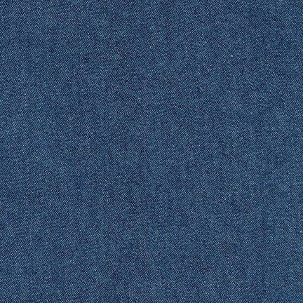 ROBERT KAUFMAN Indigo Denim 8 oz lt. indigo washed
